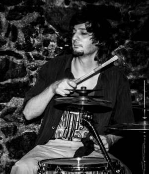 Andreas Dall - Drummer of Redkin