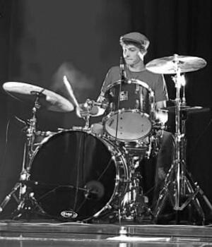 Marcel Hutter - Drummer of Redkin